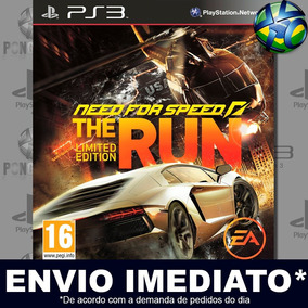 Jogo Need For Speed The Run Mídia Digital Ps3 Envio Imediato
