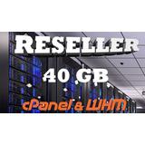 Hosting Reseller 40gb (hosting Para Revendedores 20 Dominios