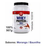 4 Whey Protein 100% Concentrado Usa 907g - Midway 4 Unidades