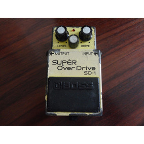 Pedal Boss Super Over Drive Sd-1 Made In Japan