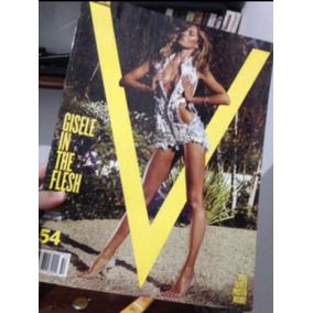 Revista Importada V Magazine. Gisele Bundchen.