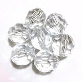 Pedrarias Cristal Facetado Acrílico 500gr 10mm Melhor Preço