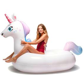 Unicornio Flotador Inflable Gigante Floatie Kings