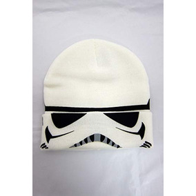 Star Wars Storm Trooper - Gorro De Punto Con Puño Abatible e671c7b351e