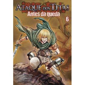Mangás Ataque Dos Titãs Antes Da Queda Vários Volumes - Cada