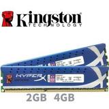 Memorias Ram Hyper X 1333hz 2 X 2gb