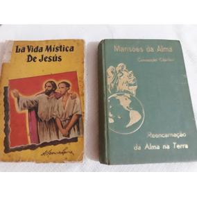 2 Livros Antigos 1em Espanhol De H.spencer Lewis-leia Descri