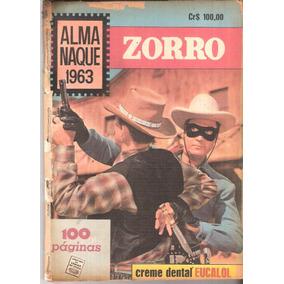 Almanaque Zorro - 1963 - Ebal