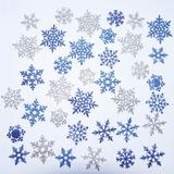 Copos De Nieve Snowflake Frozen Cartulina Con Brillantina
