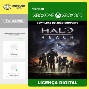 Halo Reach Dublado Pt Br Digital Xbox One Xbox 360