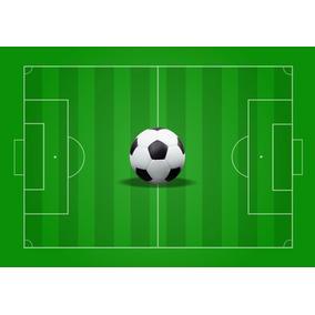 Papel De Parede Adesivo Futebol Jogo Campo Bola Gol Gg137. R  279 4c82266040ec8