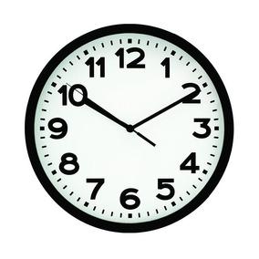 681068b4677 Relógio De Parede Preto 30 Cm - Relógios no Mercado Livre Brasil