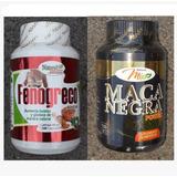 Promo Fenogreco + Maca Negra Gluteos Busto Vitalidad Mujer