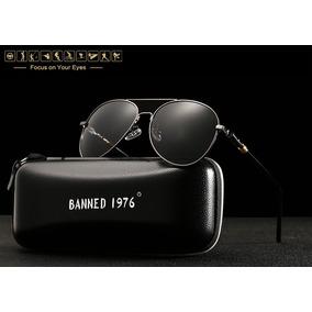 Óculos De Sol Polarizado Masculino 100% Uva E Uvb Original 4a8103f9ca
