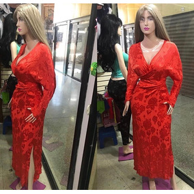 Vestido Dama Largo Talla M