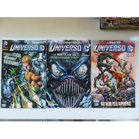 Os Novos 52! Universo Dc! Panini 2012! Vários! R$ 15,00 Cada