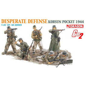 Desperate Defense Korsun 1944 (kit Figuras). 1/35. Dragon.!