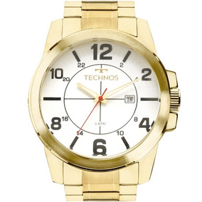 14d9102c06d Relogio Ouro Ostentação Masculino Technos - Relógios De Pulso no ...
