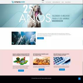 Site Barato Institucional Responsivo Script Php 2017