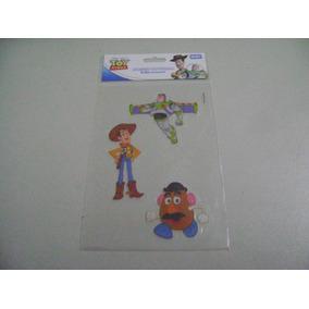Adesivo Noturno Toy Story Cartela Com 03 Peças