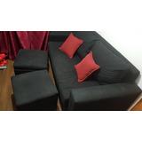 Sofa Cama Con Bancos