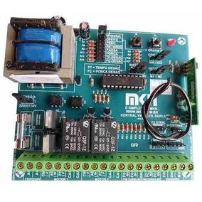Placa Dupla Universal Mkn Dp1 Mixx P/central Portao Eletroni