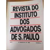 Revista Do Instituto Dos Advogados De São Paulo Volume 1