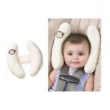 Almohada Doble Reposacabeza Protector Cuello Bebé