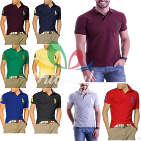 Kit 20 Camisa Polo - Pólos Manga Curta Masculinas no Mercado Livre ... 066f346f10