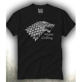Game Of Thrones House Stark Playera Hombre Envío Gratis