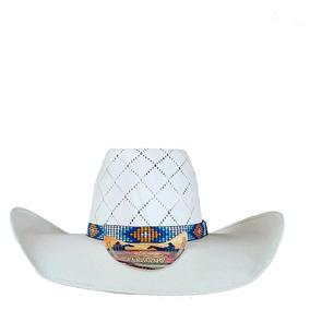 Chapeu Eldorado Branco - Chapéus Country no Mercado Livre Brasil 2e45e289428
