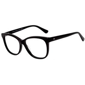ac0f6c8f673f7 0tommy Hilfiger Th 1530 - Óculos De Grau 807 15 Preto Brilho
