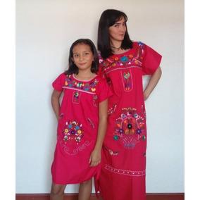Vestido Mexicano Bordado - Ropa y Accesorios en Mercado Libre Colombia 840349a9a5d6