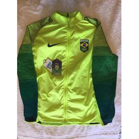 2403e045b5344 Jaqueta Masculina Nike Lab Time Brasil Olimpíadas Rio 2016