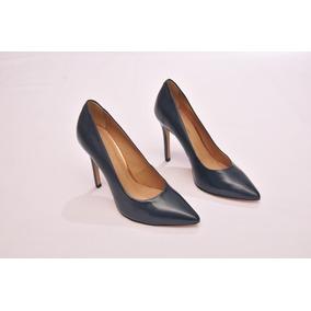 427c0017d4 Sapato Scarpin Ouro Velho E - Sapatos Azul escuro no Mercado Livre ...