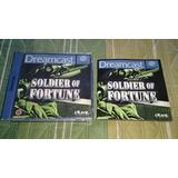 Soldier Of Fortune Juego Sega Dreamcast