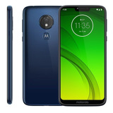Motorola Moto G7 Power 32gb Azul Novo Lacrado Nota Fiscal