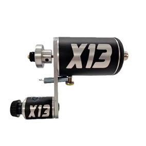Maquina Tatuagem Tattoo Rotativa X13 Hibrida Traço E Pinura