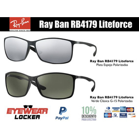 Gafas Ray Ban Rb4179 Liteforce Polarizadas 100% Originales