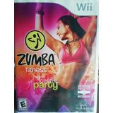 Zumba Fitness Con Cinturón Juego Wii