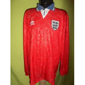 Camiseta Seleccion Inglaterra 1990 Alt. Leer Publicacion