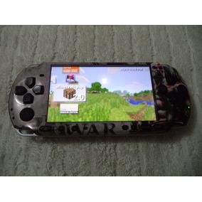 Psp Sony 3010 Original Desbloqueado Cartão 4 Gb Com 40 Jogos