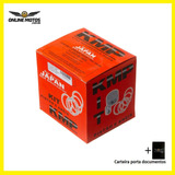 Pistão Kit Com Anel Kmp - Moto Shineray Xy50q 0.75 + Brinde
