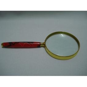 Lupa De Aumento 80 Mm Luxo Vintage Lente 8 Cm - Lupas no Mercado ... 788f752fdc