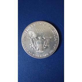 Moeda Dolar De Prata 1991