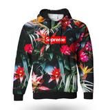 Moletom Capuz Floral Swag 420 Vaporwave Weed Street 4d05b5dfb1696