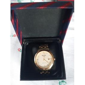 Relógio Seculus Masculino Clássico Luxo - 20008gpsgda1 Usado