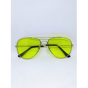 b52dd0aab7b71 Oculos Aviador Lente Colorida - Óculos no Mercado Livre Brasil