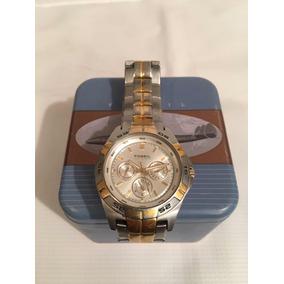 d7c67ce1458b Reloj Fossil Caballero Línea Blue Con Su Estuche