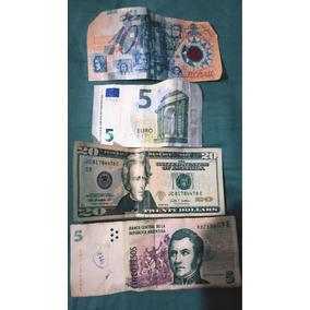 Nota Dez Reais Plástica,dolar,euro